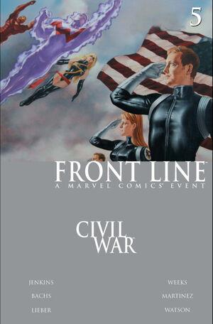 Civil War Front Line Vol 1 5