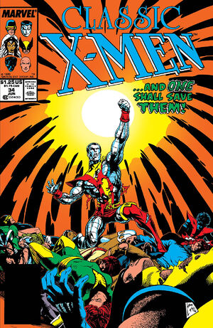 Classic X-Men Vol 1 34