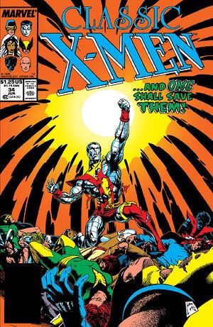 Classic X-Men Vol 1 34