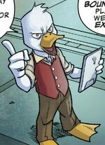 Howard the Duck (Earth-TRN626) from Guardians of the Galaxy Telltale Games Vol 1 1 001