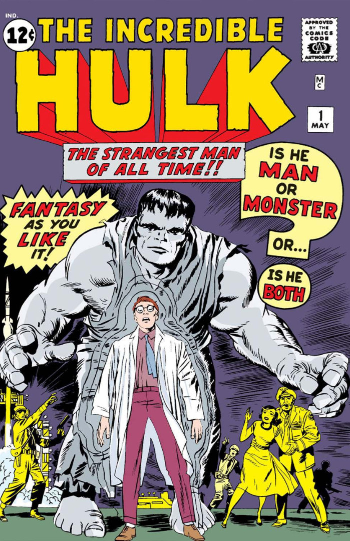 Image result for The Incredible Hulk - Issue #1 (May 1, 1962)