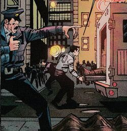 New York Police Department (Earth-19725) from Spider-Girl The End Vol 1 1 001
