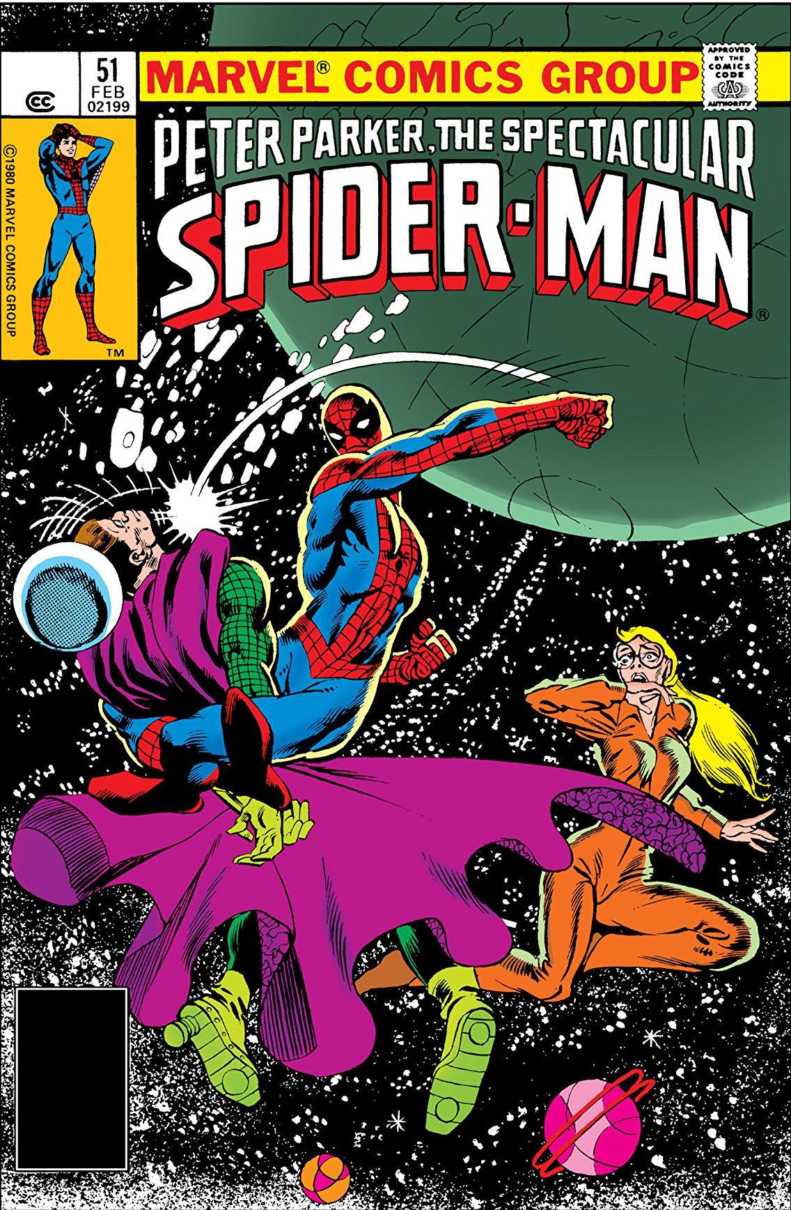 Peter Parker, The Spectacular Spider-Man Vol 1 51