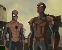 Peter Parker (Earth-12041) and Peter Parker (Earth-TRN458) 001