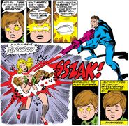 Reed Richards (Earth-616) shuts down his son's mind from Fantastic Four Vol 1 141