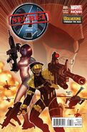 Secret Avengers Vol 2 5 Wolverine Through the Ages Variant