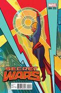 Secret Wars Vol 1 4 Henderson Variant