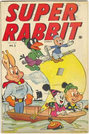 Super Rabbit Comics Vol 1 5