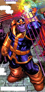 Thanos (Earth-90266) What If Newer Fantastic Four Vol 1 1