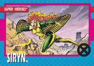Theresa Rourke (Earth-616) from X-Men (Trading Cards) 1992 Set 0001