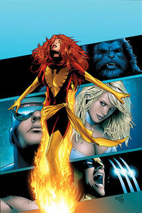 X-Men Phoenix Endsong Vol 1 2 Textless