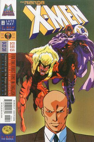 X-Men The Manga Vol 1 6