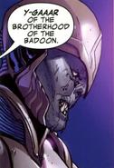Y-Gaaar (Earth-616) from Guardians of the Galaxy Vol 3 2 0001