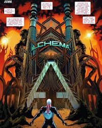 Alchemax (Earth-TRN590) from Spider-Man 2099 Vol 3 10 001