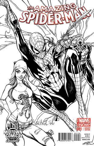 File:Amazing Spider-Man Vol 3 1 Midtown Comics Exclusive Sketch Variant.jpg