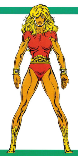 Ayesha (Earth-616) from Official Handbook of the Marvel Universe Master Edition Vol 1 22 0001