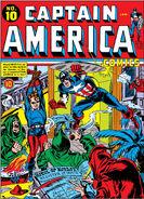 Captain America Comics Vol 1 10