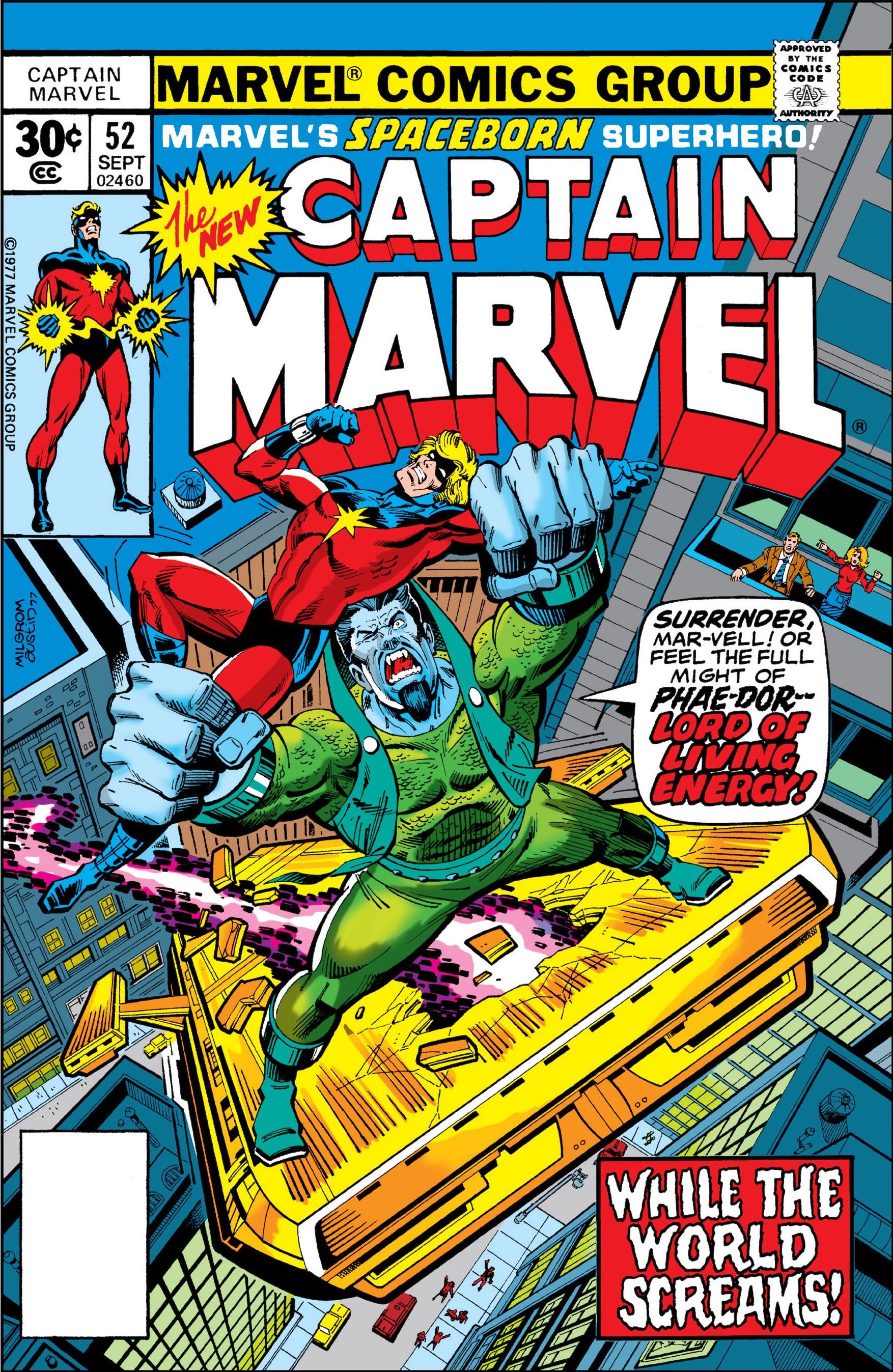 captain marvel 52