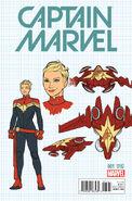 Captain Marvel Vol 9 1 Design Variant