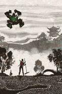 Deadpool's Art of War Vol 1 3 Textless