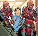 Dora Milaje (Earth-16220) from Spidey School's Out Vol 1 3 001