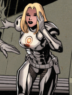 Emma Frost (Earth-32134) from Captain Britain and the Mighty Defenders Vol 1 1 001