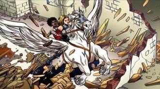 Fearless Defenders 4 - Art Evolution - Marvel AR