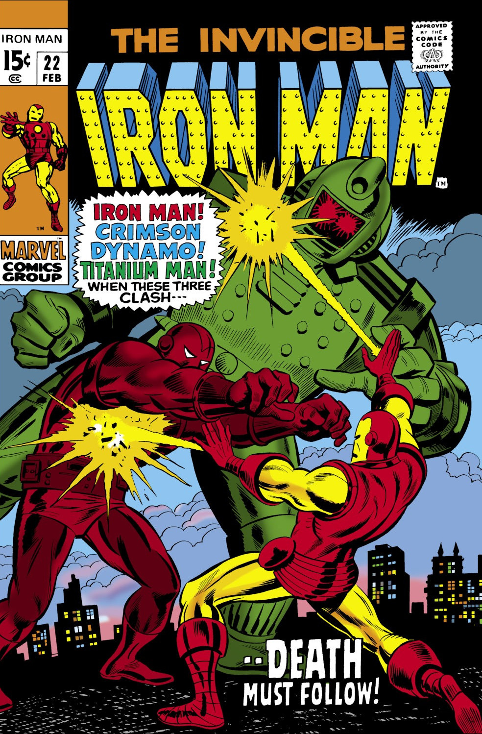 Iron Man Vol 1 22 | Marvel Database | FANDOM powered by Wikia