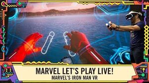 Marvel's Iron Man VR Gameplay at SDCC 2019