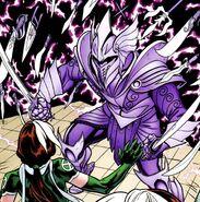 Paras Gavaskar (Earth-616) and Rogue (Anna Marie) (Earth-616) from X-Men Legacy Vol 1 234 0001