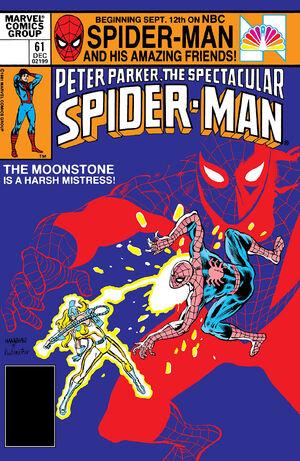 Peter Parker, The Spectacular Spider-Man Vol 1 61