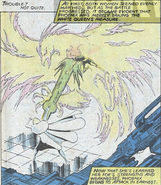 Phoenix Force as Jean Grey and Emma Frost (Earth-616) from X-Men Vol 1 131 0001