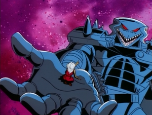 Shadow King (Earth-92131) and Ororo Munroe (Earth-92131) from X-Men The Animated Series Season 2 3 0001