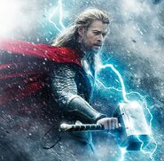 Thor Odinson (Earth-199999) from Thor The Dark World Poster 0002