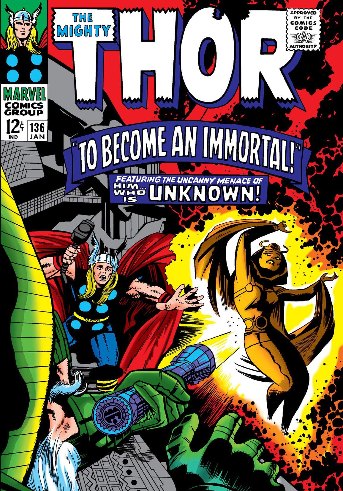 Resultado de imagem para The Mighty Thor 136