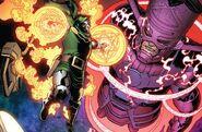Victor von Doom (Earth-616) vs. Galan (Earth-616) from Fantastic Four Vol 6 6 002