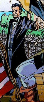 Abraham Lincoln (Earth-717) from What If Captain America Vol 1 1
