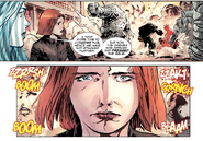 Annie (LMD) (Earth-616), Parul Kurinji (Earth-616), Omegex (Earth-616), and Thaddeus Ross (Earth-616) from Hulk Vol 2 41