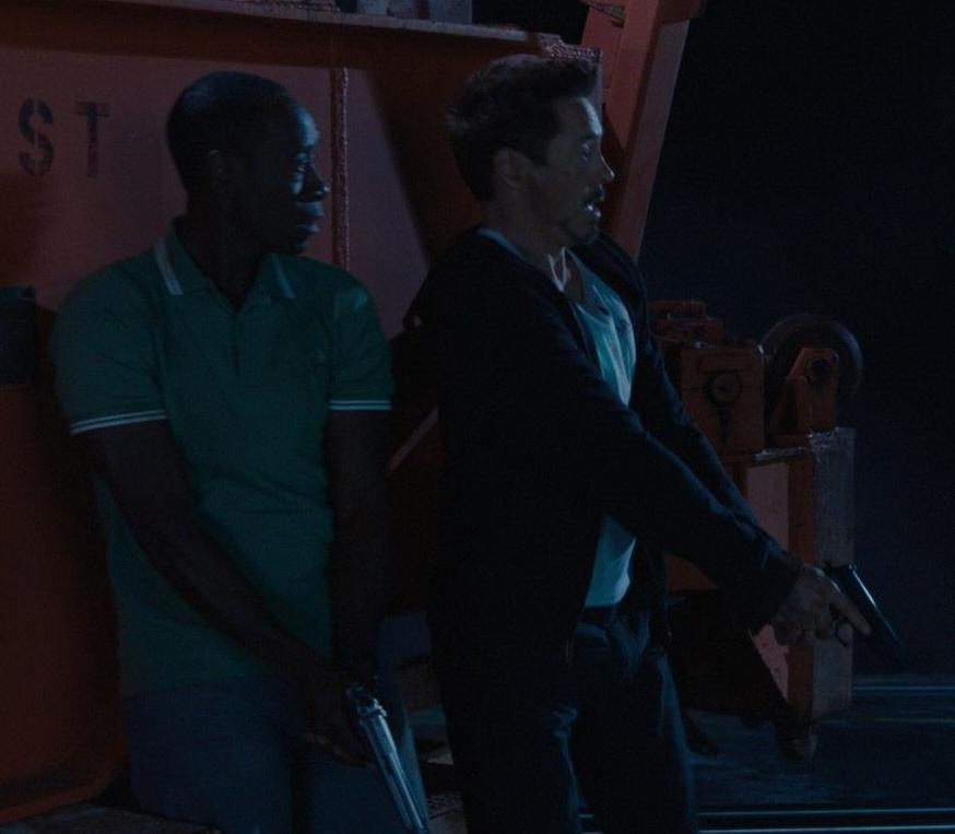 Anthony Stark (Earth-199999) and James Rhodes (Earth-199999) from Iron Man 3 (film) 003