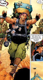 Benjamin Grimm (Earth-1610) from Ultimate Fantastic Four Vol 1 2 0001