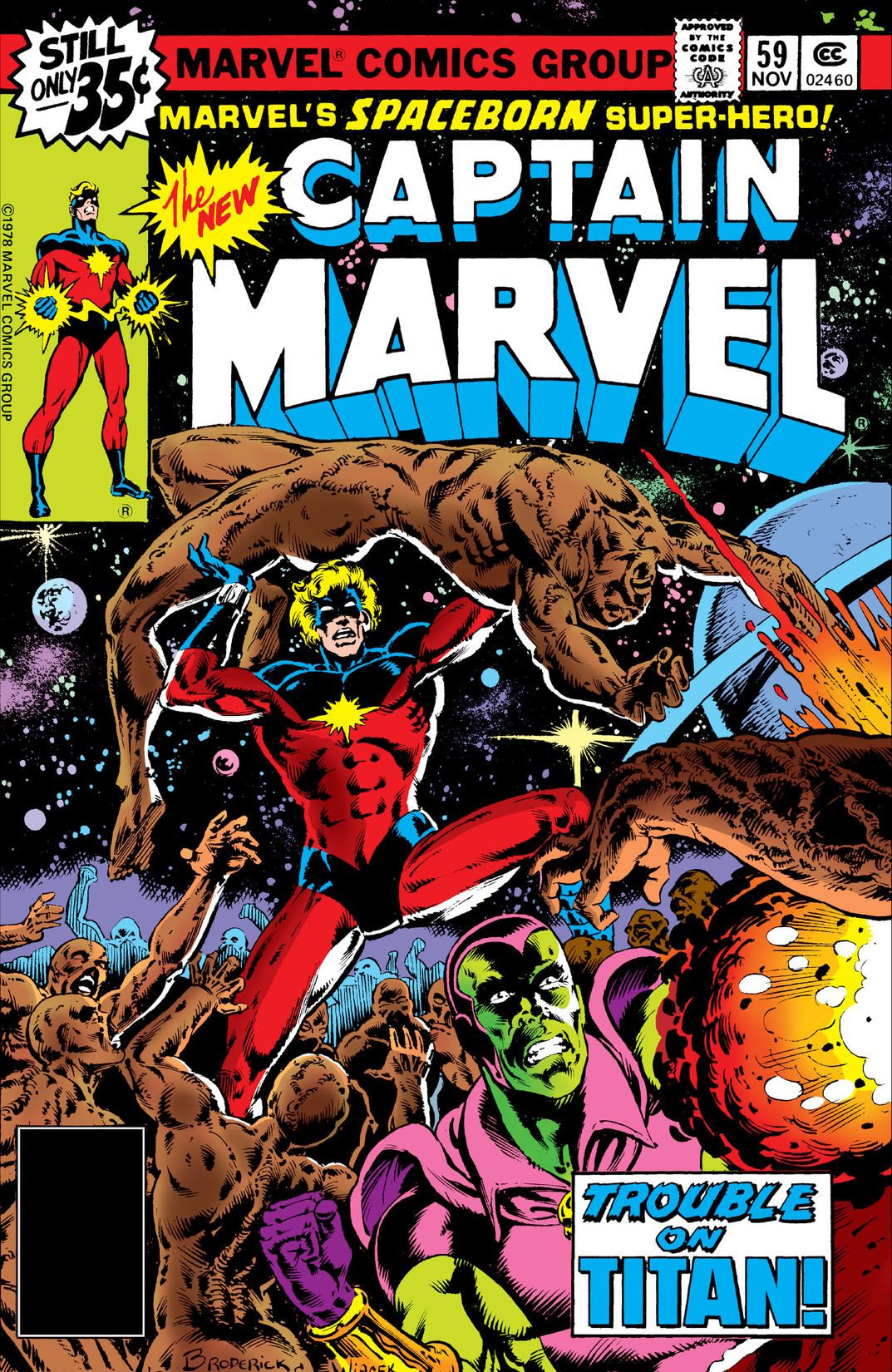 captain marvel 59