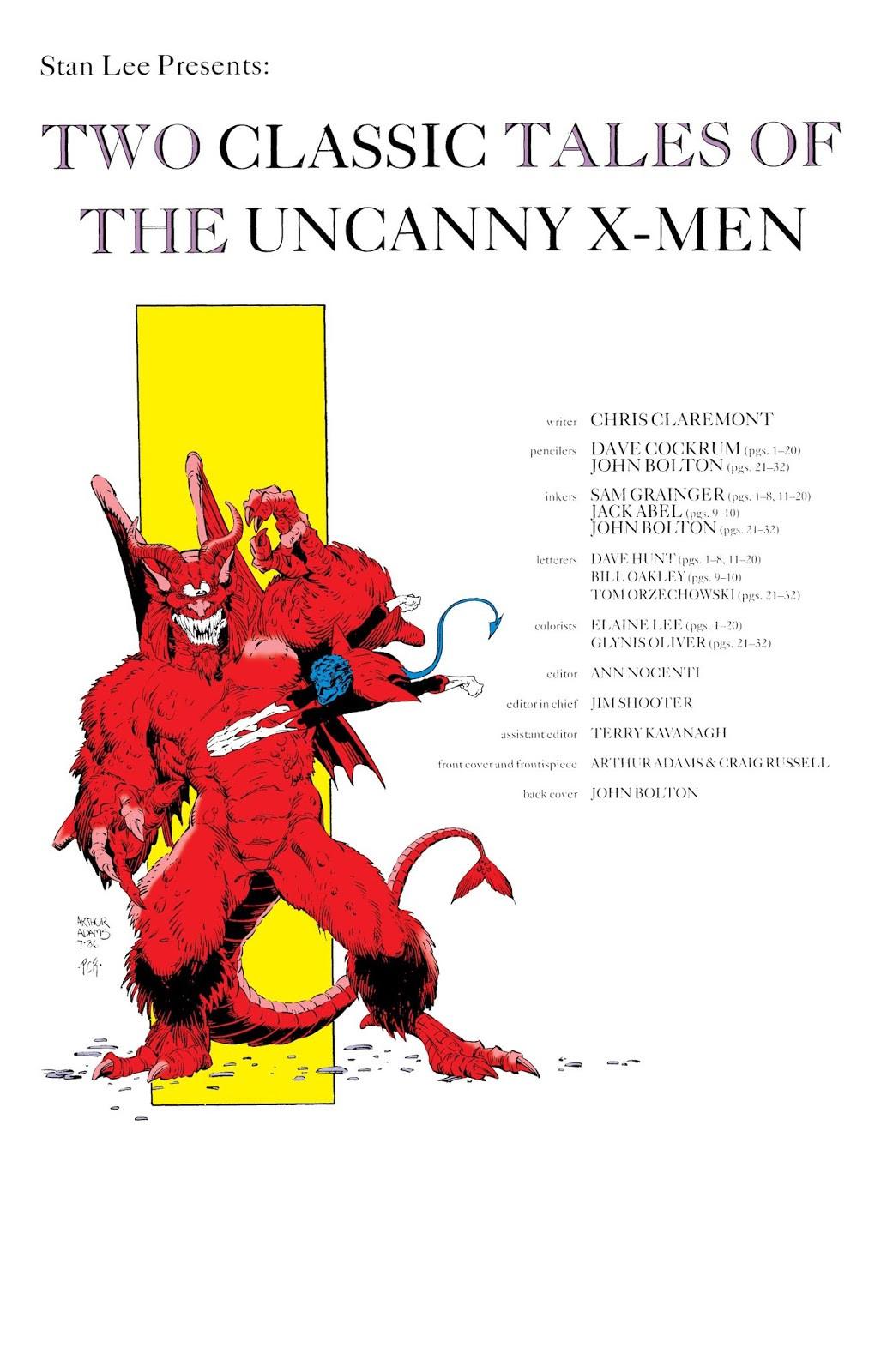 Classic X-Men Vol 1 4 Bonus 001
