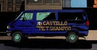 Doctor Castillo's Pet Shampoo Van from X-Factor Vol 3 6 0001