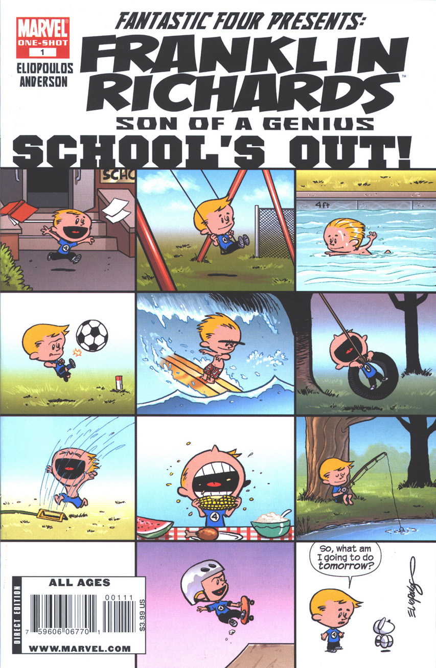 Franklin Richards Schools Out Vol 1 1