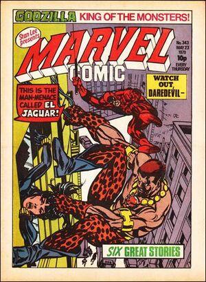 Marvel Comic Vol 1 343