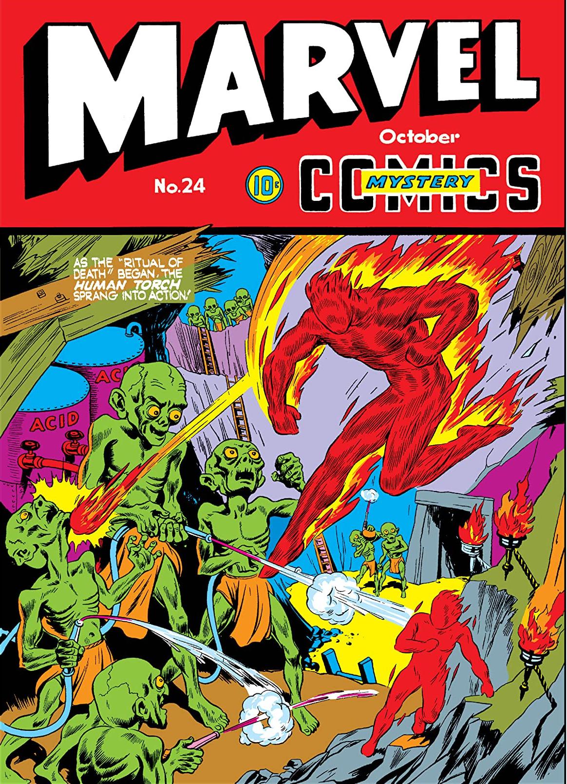 Marvel Mystery Comics Vol 1 24