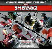 Marvel Ultimate Alliance 2 Back