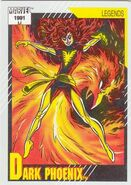 Phoenix Force (Earth-616) from Marvel Universe Cards Series II 0001