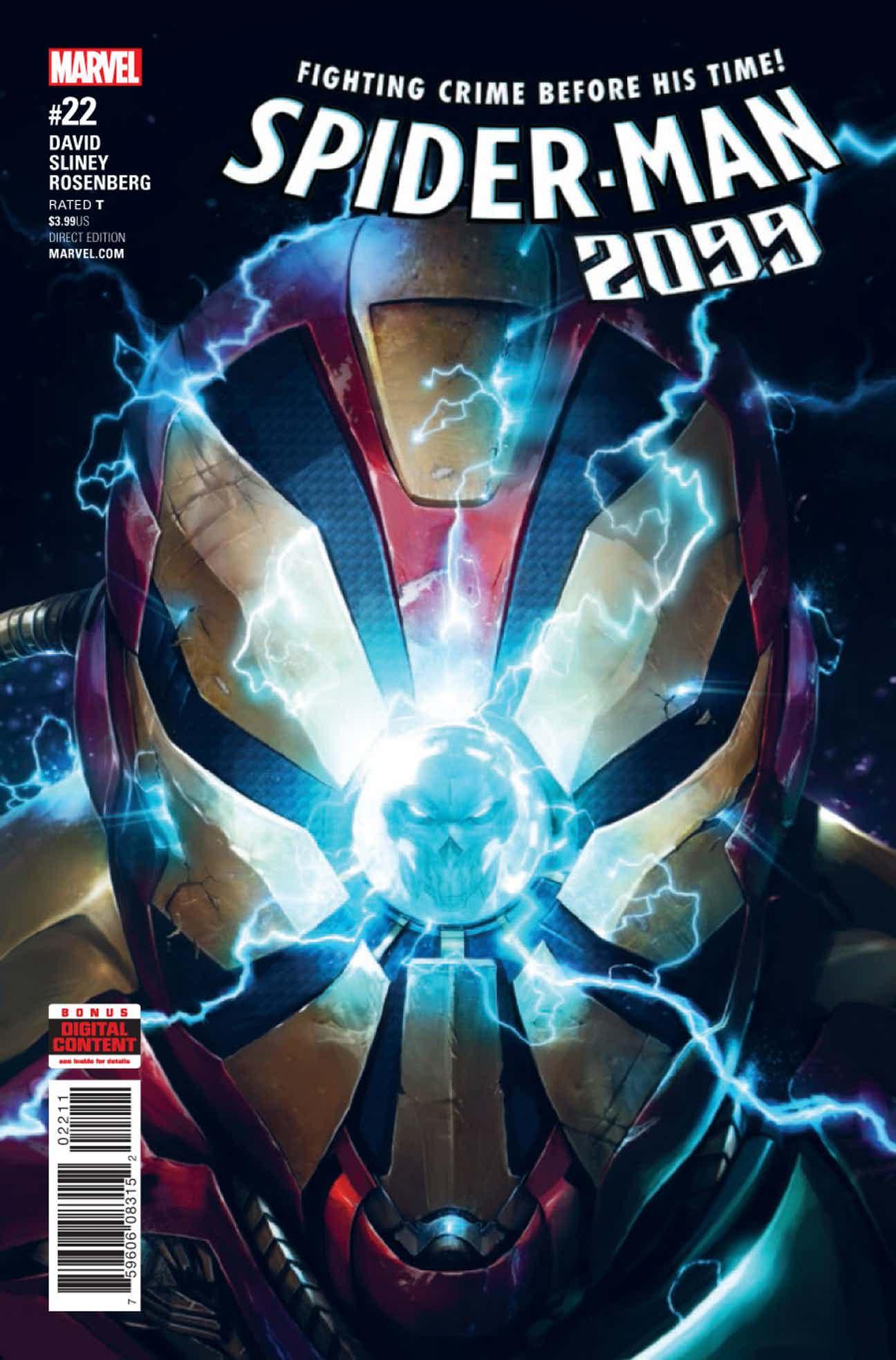 Spider-Man 2099 Vol 3 22 | Marvel Database | FANDOM powered