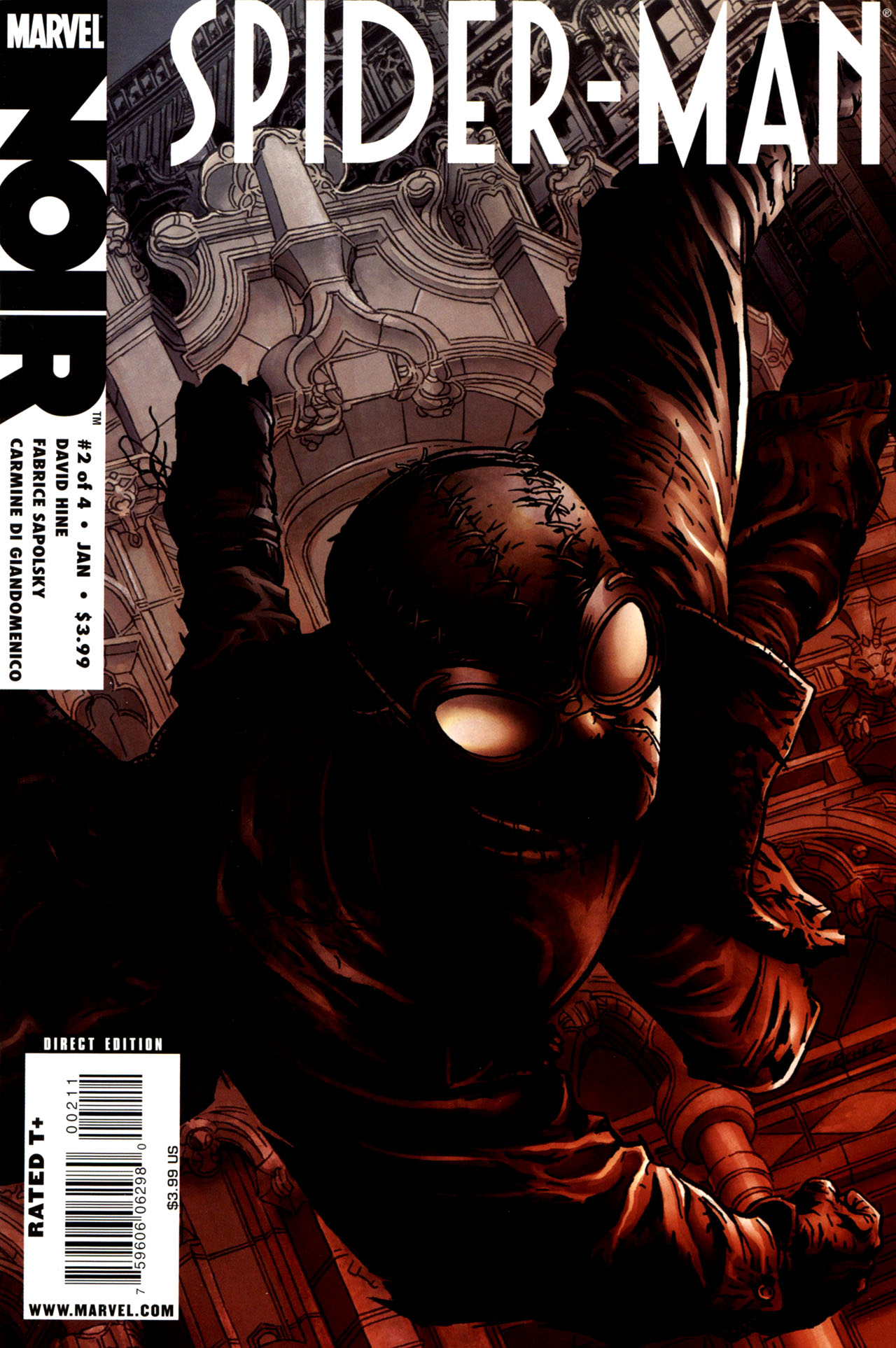 spider-man noir vol 1 2 | marvel database | fandom poweredwikia
